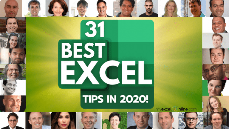 028: The Best Microsoft Excel Tips & Tricks in 2020! | MyExcelOnline