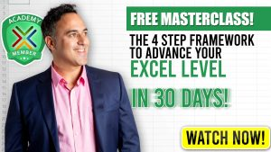 Free Excel Masterclass
