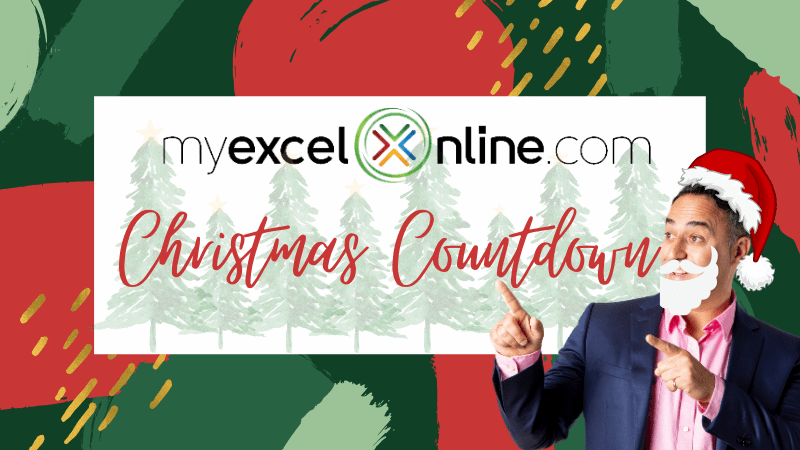 MyExcelOnline Christmas Countdown! | MyExcelOnline
