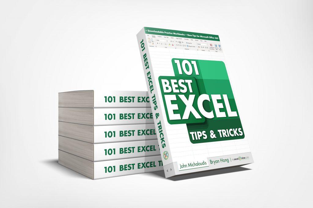 101 Best Excel Tips & Tricks Book