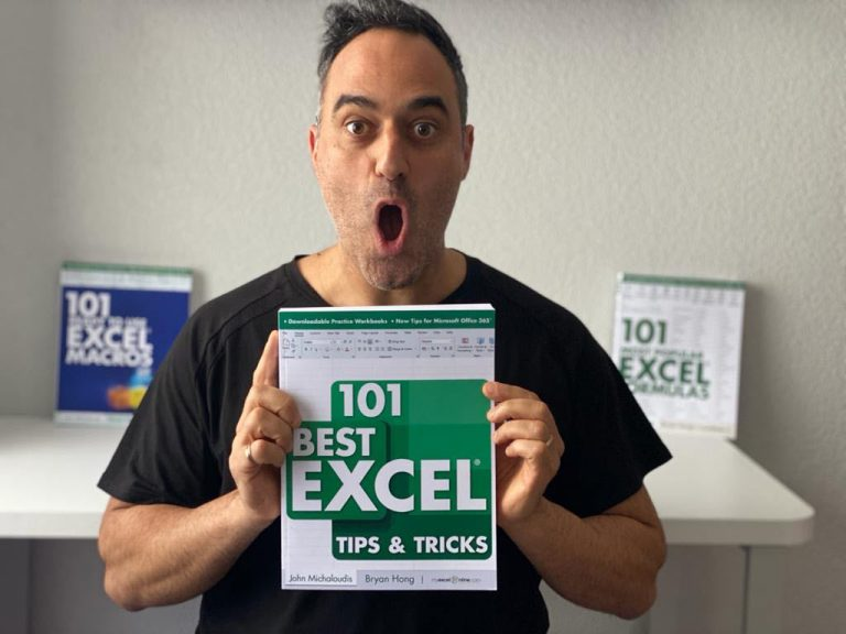 029: 101 Best Excel Tips & Tricks Book Launch + My Top 10 Tips & Tricks | MyExcelOnline