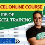 Free Microsoft Excel Online Course – 20+ Hours Beginner to Advanced Course