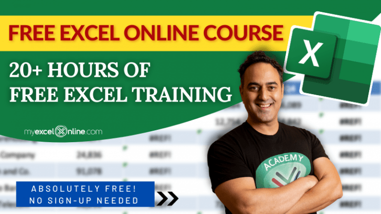Free Microsoft Excel Online Course