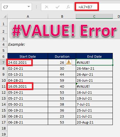 #value error