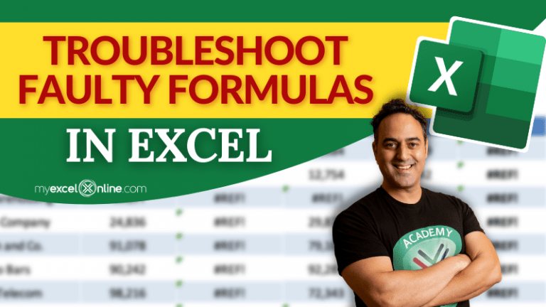 Why Excel Formula giving Wrong Answers? | MyExcelOnline
