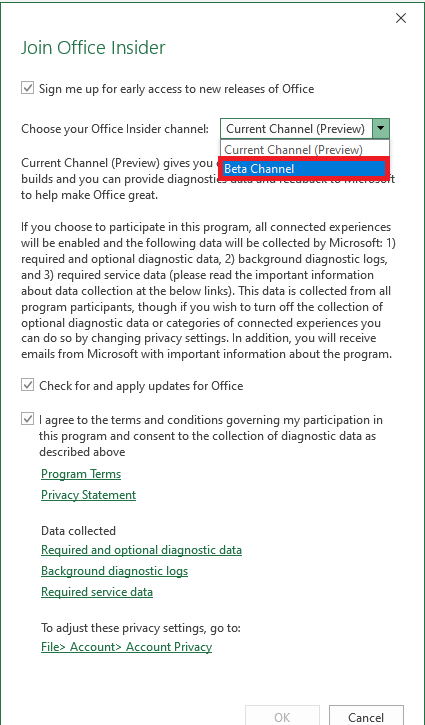How to Join Microsoft Office Insider Program | MyExcelOnline