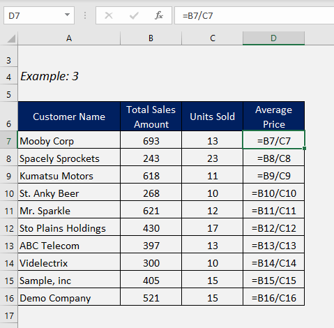 Why Excel Formula giving Wrong Answers?   MyExcelOnline